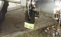 Brake disc locks